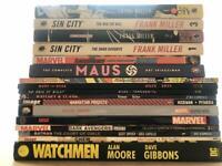 Marvel/DC Comics Graphic Novel Joblot