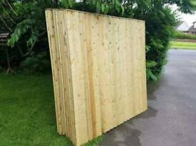 Feather Edge Fence Panels