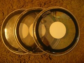 "Aquarian/Evans 10"" Heads Light Use"