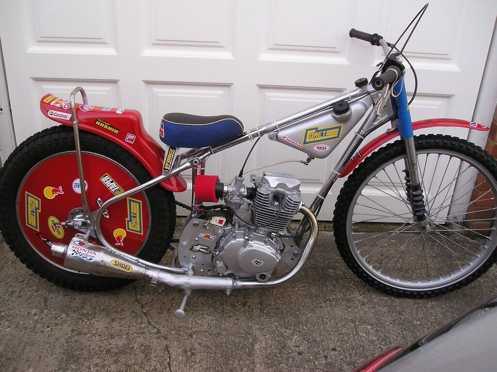 Speedway Bike Fitted 200cc Motorcycle Engine Adult Or