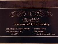 Jyst Clean - Commercial /Office Cleaning Services