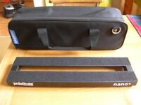 pedaltrain nano plus guitar effects pedal board