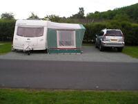 trio caravan awning