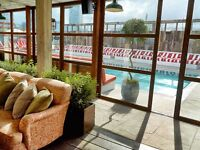 Runner & Busser for Roof Top Pool and Garden - Shoreditch House