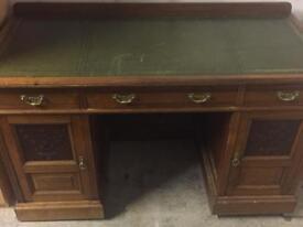 Mahogany Antique Study desk