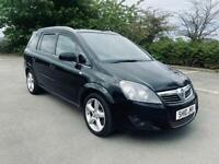 2010 Vauxhal Zafira SRI 1.9 CDTI Black MPV 7 seater MOTd