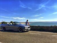 BMW e36 320i convertable, rare factory paint work.