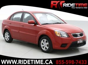 2011 Kia Rio EX Sedan - Automatic, A/C, Bluethooth, AUX/USB Inpu