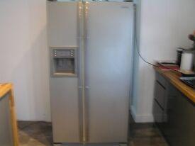 Samsung American Fridge/Freezer (side by side) 910wx660dx1735h