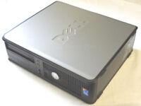 DELL OPTIPLEX 755 2.66GHZ CORE 2 DUO 250GB HDD 4GB RAM