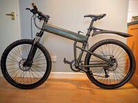 "Montague Paratrooper 18"" Folding Mountain Bike"
