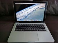 Upgraded 13 inch Macbook Pro A1278 2.5 GHz Intel Core i5 8 GB 1600 MHz DDR3 500GB SSD