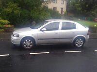 Vauxhall Astra 1.4 Full years MOT