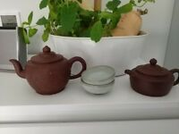 Beautiful Chinese Clay Teapots