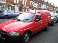 Ford escort van, full mot fully serviced with cambelts changed all new brakes, good to go.