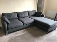 Ares Corner Chaise 3-Seater Sofa