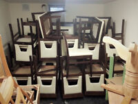 55 Pub/Restaurant wooden chairs! CHEAP! NEED GO ASAP
