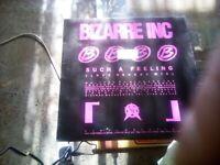 Rare 12inch Bizarre Inc - Suck a Feeling. Vinyl Record.