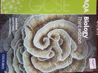 GCSE 9-1 AQA Biology 3rd Edition - Oxford - As Good as New for sale - £12