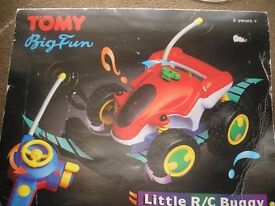 very rare tomy r/c buggy in box perfect working like new