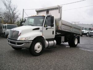 2012 International 4300 Brand New Aluminum Dump