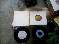 7inch 3x Michael Jackson - In the Closet & Wanna be Startin Somethin. Vinyl.