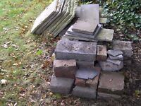 Various Paving, Bricks, Blocks, other building materials