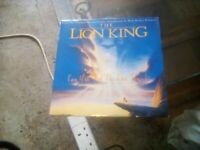 Rare 7inch The Lion King - Can you feel the love Tonight Vinyl Record.