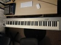 M-AUDIO KEYSTATION 88. Keyboard Midi Controller. Great condition.