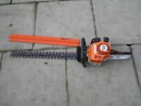 "Stihl HS 45 Hedge Trimer 24"" cutter"
