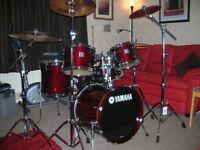 Yamaha Stage Custom Advantage Nouveau 5-Piece Fusion Drum Set