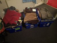 BNWT M&S Joblot of Mens Jeans/Chinos/ Cords - £100 a box