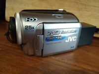 JVC Camcorder with 20GB Hard Drive