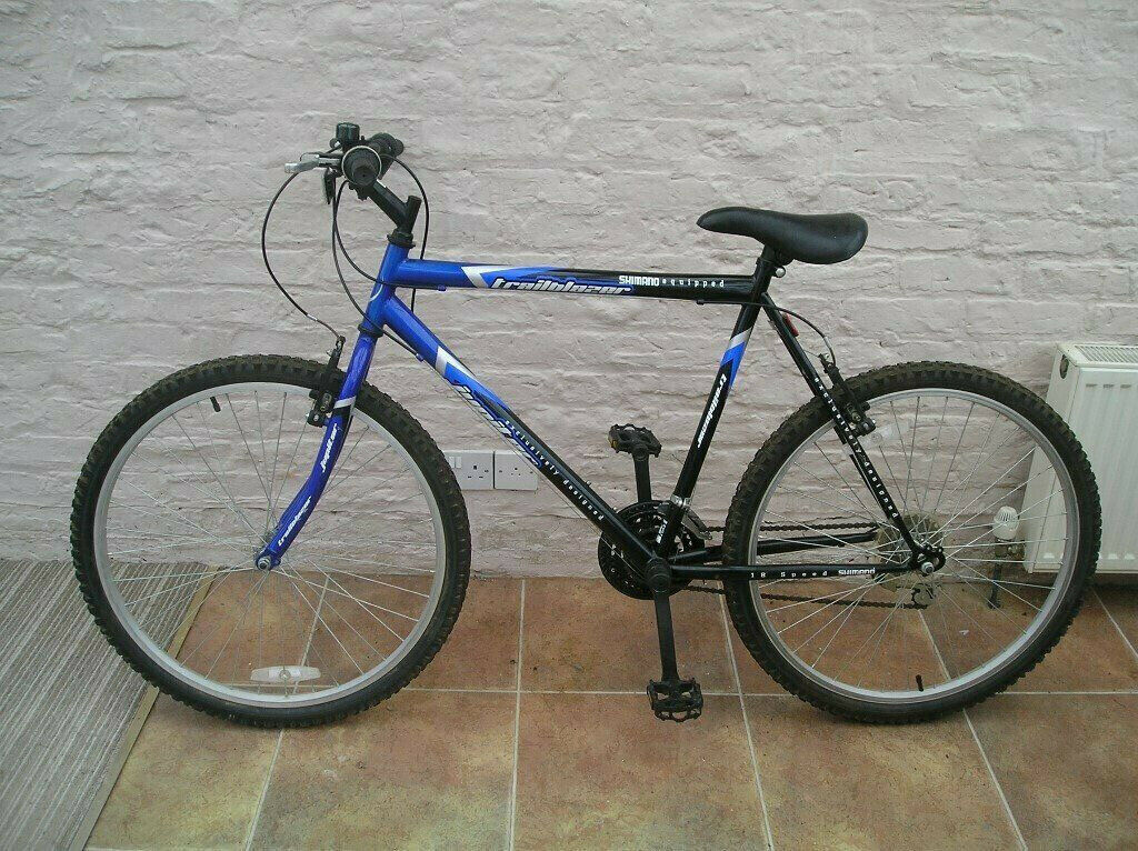 79023e5ced3 Gents Jupiter Trailblazer bike bicycle cycle with 18 speed Shimano gea
