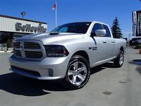 2015 Ram 1500 Sport-Hemi-Sunroof-Leather Trimmed Buckets-Remote