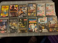 PSP games boxed