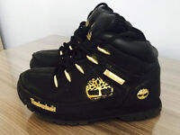Kids black Timberlands boots,Size UK 13, Quick sale at only £15
