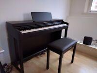 Yamaha CLP525 Clavinova Digital Piano + Matching Stool. Dark Rosewood