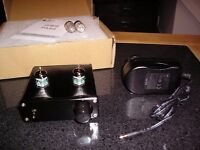Valve (Tube) Pre Amplifier with Upgraded Valves, Capacitors & UK CE Power Supply.