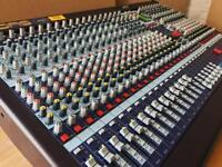 Midas Venice 320, 32 Channel Analog Mixer, Front Of House, Recording Mixing Desk