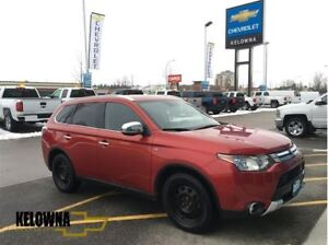 2015 Mitsubishi Outlander GT   Accident Free   Leather