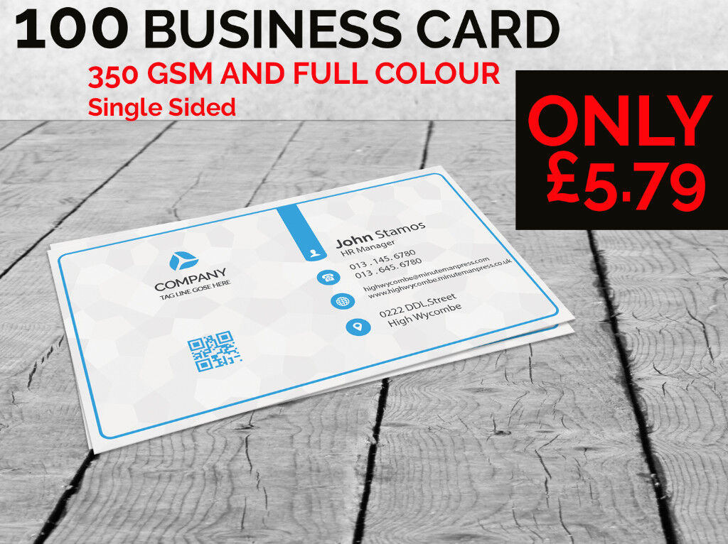 Build your brand with professional looking standard printed business build your brand with professional looking standard printed business cards reheart Image collections