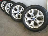 """17"""" Ford kuga galaxy focus transit connect mondeo alloy wheels"""