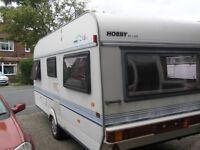 Caravan 4 berth Hobby GWO
