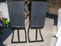 Mordaunt Short MS35Ti speakers and stands