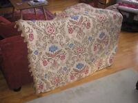 large ornate curtain - door curtain or could split