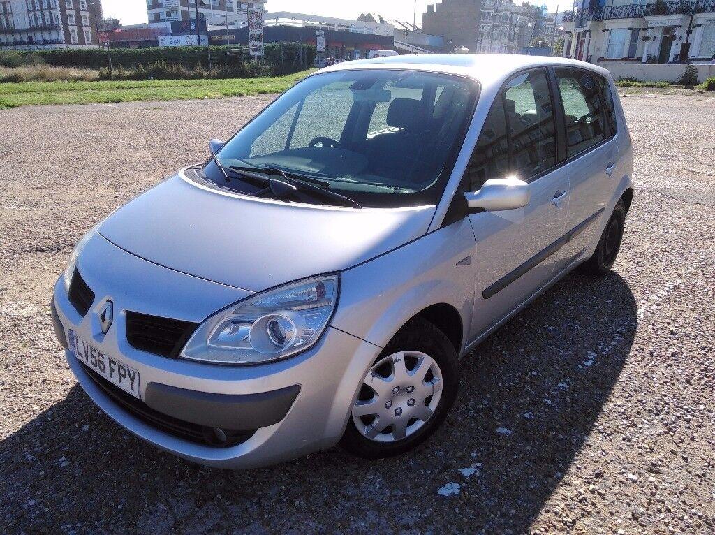 Renault Scenic 1.6 petrol, automatic. Long MOT