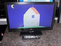 """Bush 24"""" Full HD 1080p LCD / DVD , Freeview"""