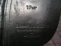 Horse Saddle Leather Made in Scotland by Andrew Sankey