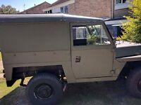 Landrover Lightweight Series 3 with Perkins diesel and 12 months MOT